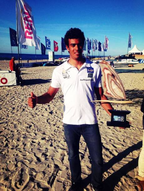 Tristan Algret Champion du Monde Jeune PWA